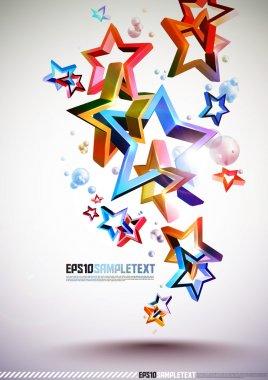 3D Tangled Stars