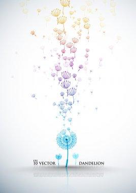 Elegant Dandelion Design