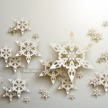 3D Snowflakes Design