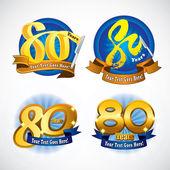 Fotografie 80 Jahre-Impressum-design