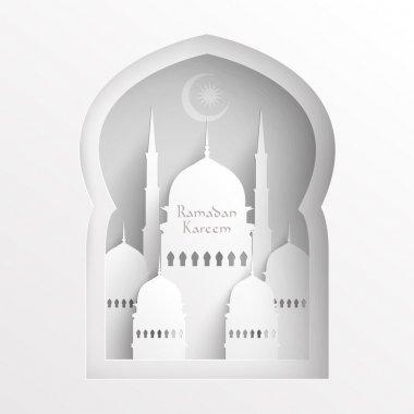 3D Paper Mosque