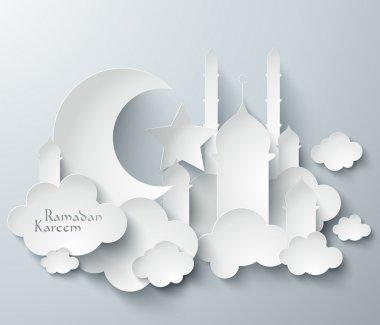 3D Muslim Paper Graphics.