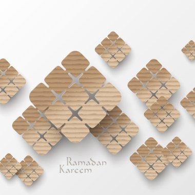 3D Muslim Cardboard Graphics