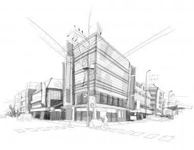 City Street Sketching