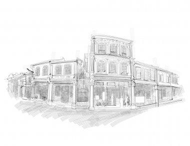 Malacca Street Sketching