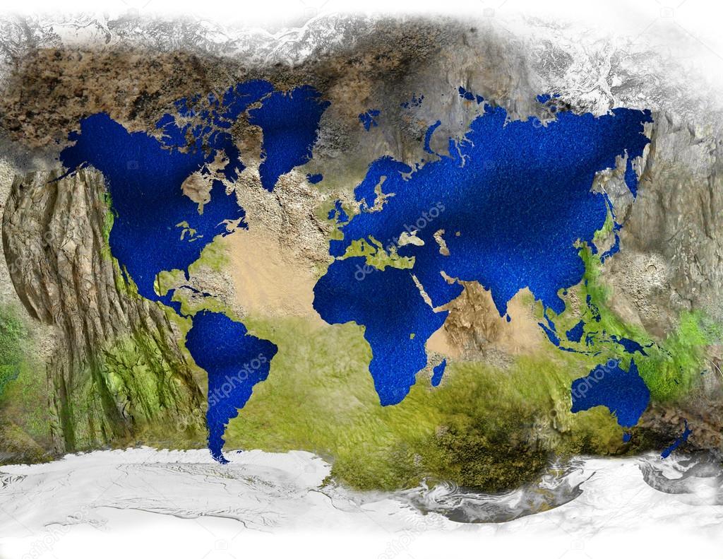 Earth in reverse stock photo jessjagmin 34172193 earth in reverse stock photo gumiabroncs Image collections