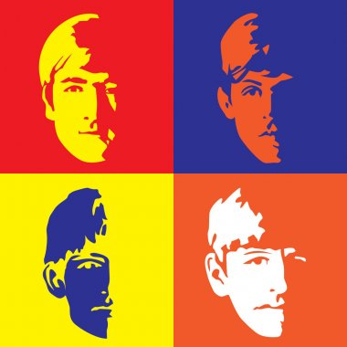 The Fab Four - John, Paul, Ringo & George