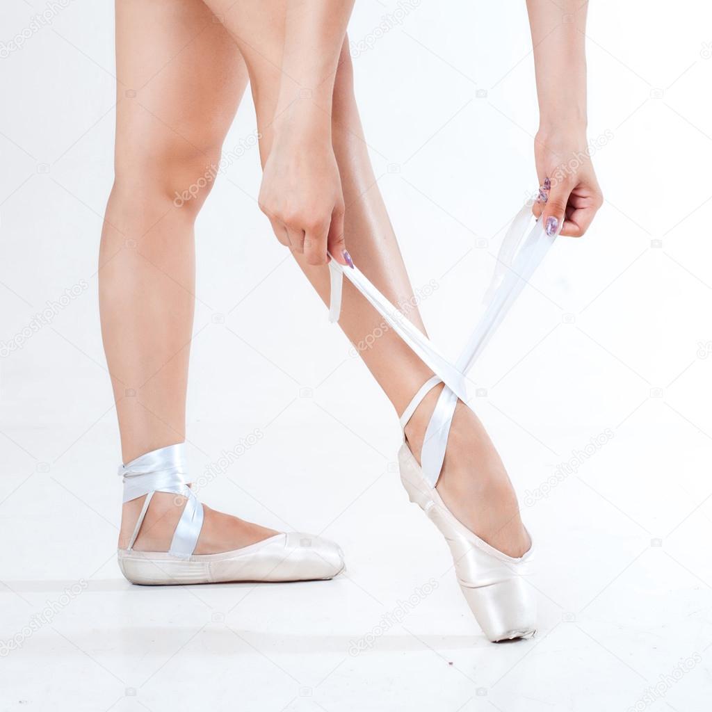 che closeup ballerina scarpe gambe su danza e giovane Zq5wxStdq