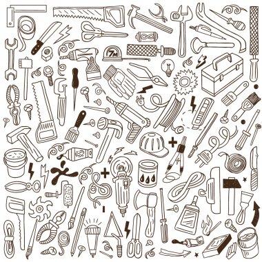 working tools - doodles