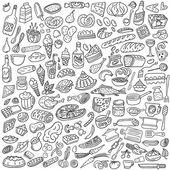 Fotografia cibo doodles
