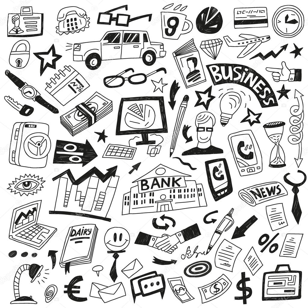 Business - icons collection