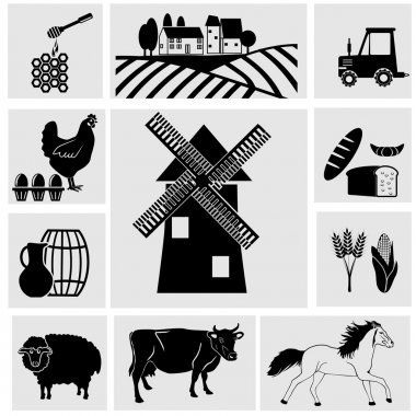 Agriculture and Farming icons