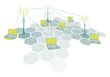 Connecting laptops in Wireless network