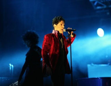Prince in Concert At The Annual Sziget Festival