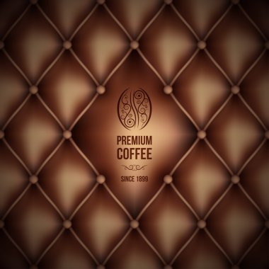 Premium coffee (leather theme)