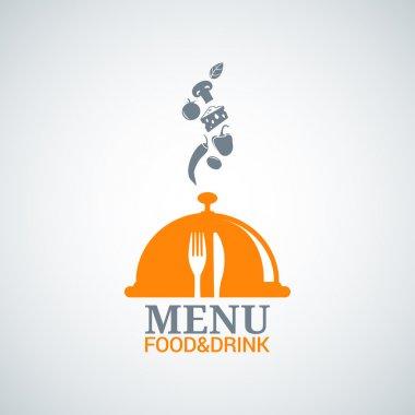 menu design food drink dishes background