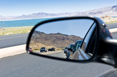 Road congestion reflection