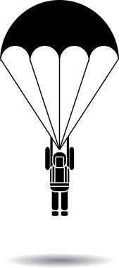 Printparachute jump