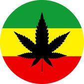 Rasta barvy marihuana