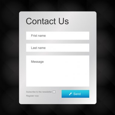 Vector contacts form