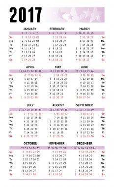 Calendar european