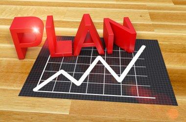 Business planning chart