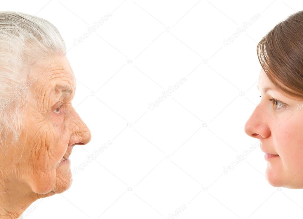 старая и молодая борются живем для