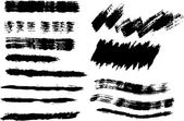 Brush strokes rough hatching drawing texture