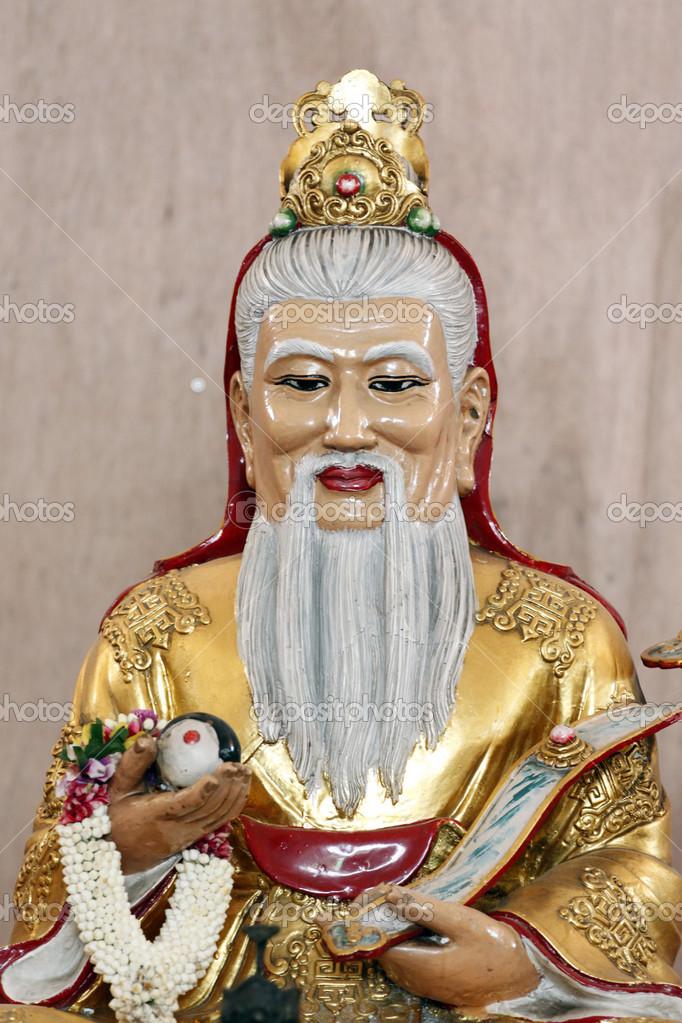 рисунки китайских богов фото раздумывая