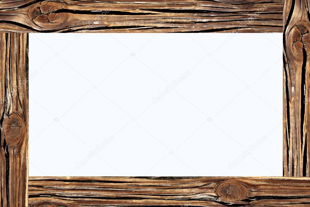 Holz Rahmen des Bildes — Stockfoto © meepoohyaphoto #25025781