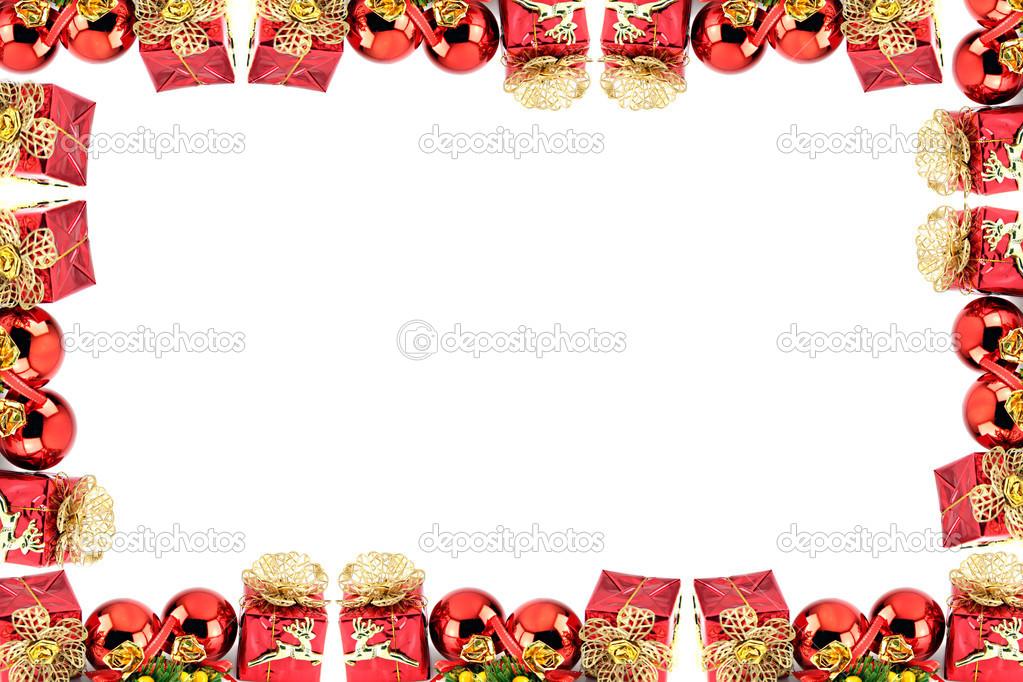 marco de Navidad y año nuevo — Fotos de Stock © meepoohyaphoto #36960153