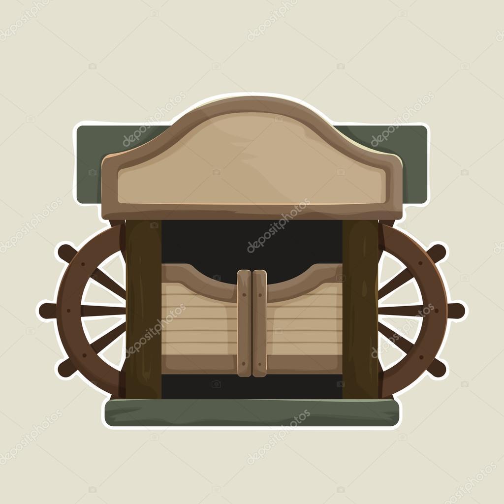 Immagini saloon doors cartoon cartone animato in stile vecchio