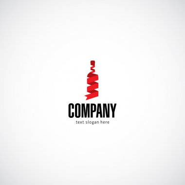 Wine concept business company logo