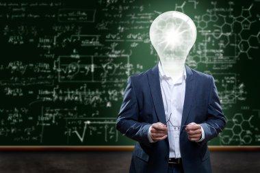 Teacher with ideas