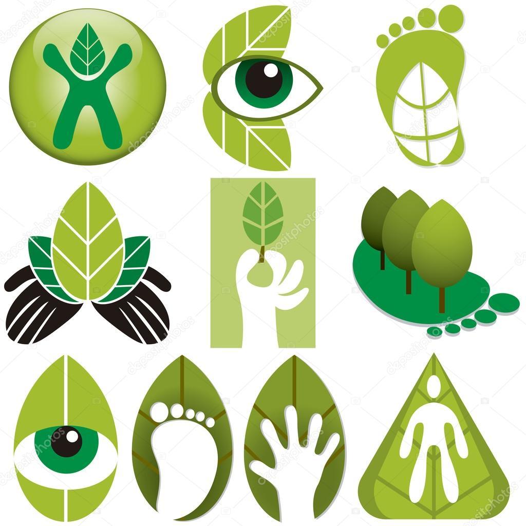 Eco Logos Set