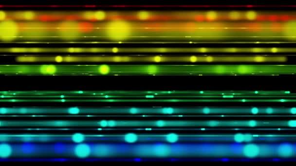 futuristické video animace s pohybující proužek světlé pozadí, smyčka hd 1080p