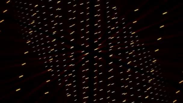 futuristické video animace s pohyblivými světlé pozadí, smyčka hd 1080p