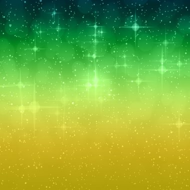 Wonderful Christmas background design illustration with stars an