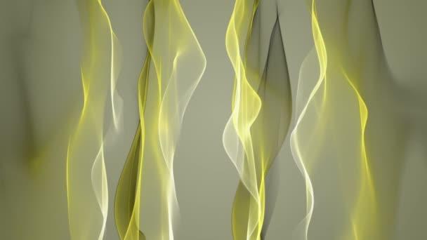nádherné eco video animace s pohybující se objekt vlna smyčka hd 1080p