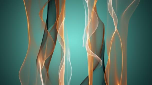 fantastické video animace s pohybující se objekt vlna smyčka hd 1080p