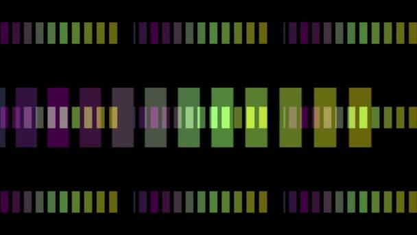 fantastické video animace se světlými pruhy pozadím v pohybu, smyčka hd 1080p