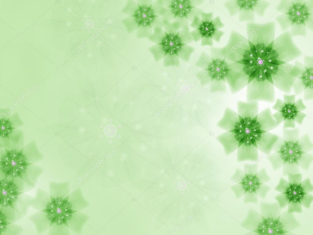 Ckground from beautiful translucent flowers – Stock Illustration