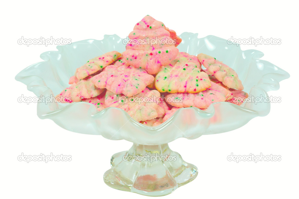 Christmas Tree Spritz Cookies Stock Photo C Nanjanho 40253257