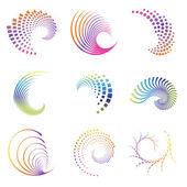 ikony designu wave