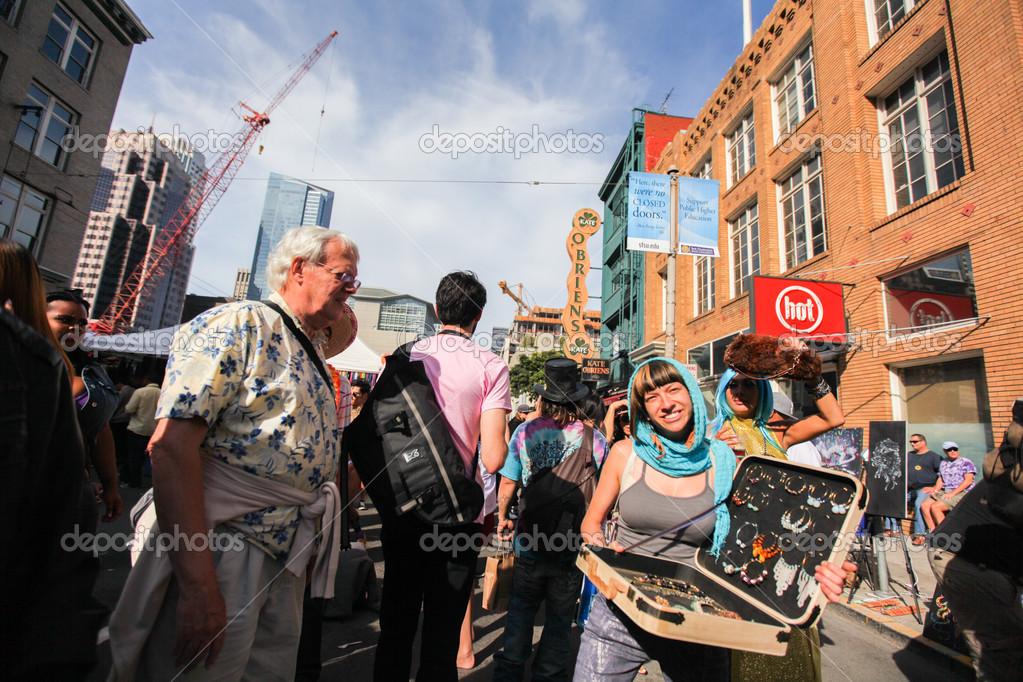 how weird street fair april 2013 stock editorial photo tsiban