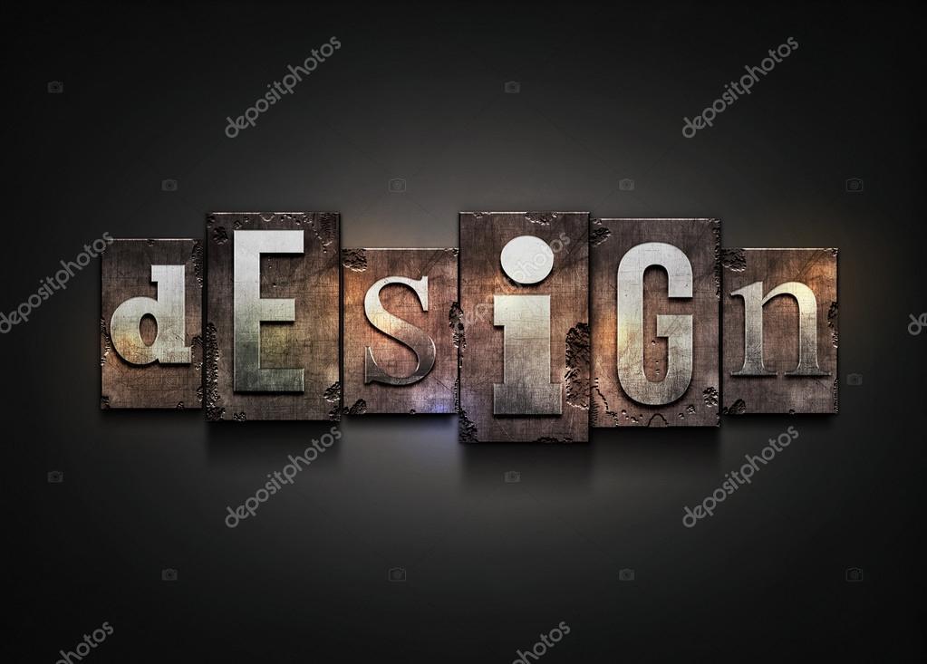 Design letterpress.