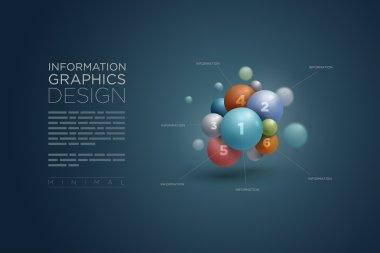 Sphere infographics