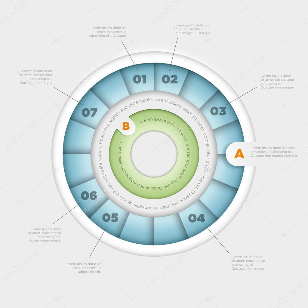 Wheel infographic