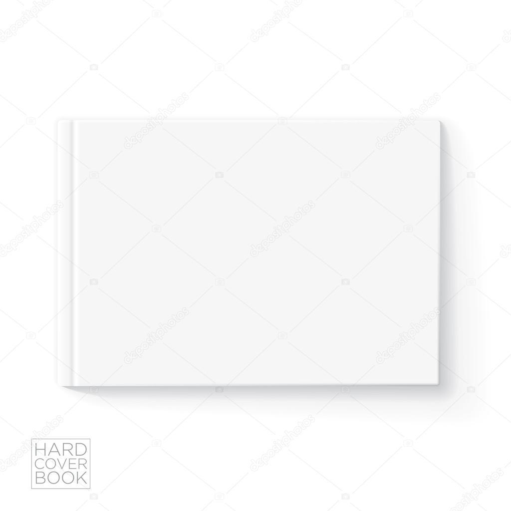 plantilla de libro de tapa dura — Archivo Imágenes Vectoriales ...