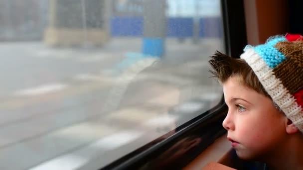 Train boy
